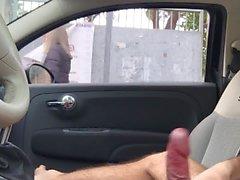 una passante ha visto il mio cazzo...