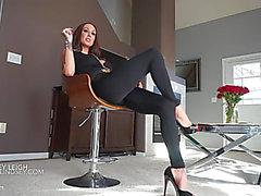 Femdom in high heels
