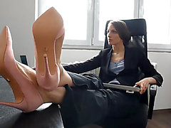 Hot colleague foot worship dream