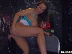 Gloryhole Porn with big titted MILF Lisa Ann