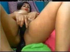 Büyük Göğüsleri Latina Onun Ass Ve Islak Pussy DP Dildoing