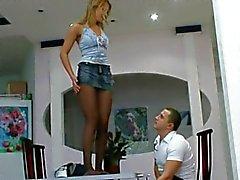 Russian Girl In Pantyhose 02