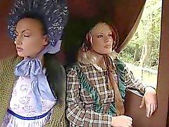 Cena lésbica Wild West