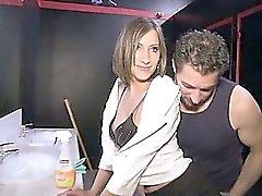 Wendy una bella del brunette Inculata fottuto in club di scambisti