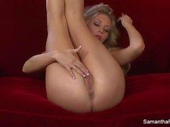dedos Samantha Saint super quente seu bichano