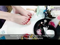 Woman margot 17min adult that is pungent feet footfetish di