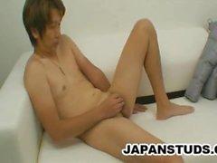 Syunsuke Suzuki: japonês Dilf solitário e Jerking