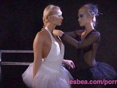 Lesbea Halloween Special innocent young ballerina seduced by evil witch