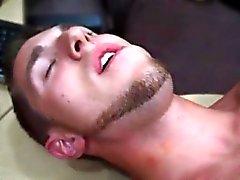 Русский военный гетеросексуальных мужчин пола Ги заканчивается заднице трахаться