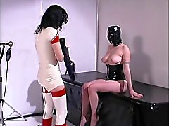 Chicks enjoy hardcore BDSM with