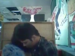 Bangladeshi BF & GF in restaurant 1 full on hotcamgirls . in