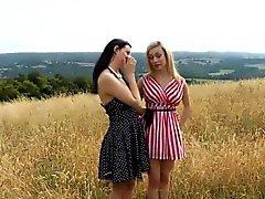 Heeled british lesbian