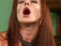 Steamy Cindy Dollar doesnt care which hole as long as its hard and fast