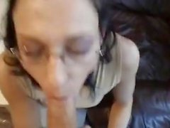 A German have blowjob with boyfriend