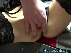 Dick sucking dutch hooker