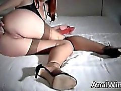 Self Fisting Amateur Girl On The Bed