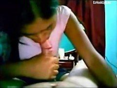 kiimainen desi Intian college tyttöystävä