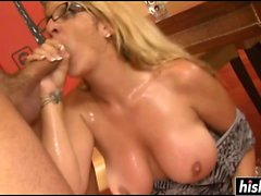 Sexy babe gets banged and pleasured