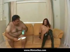 The Minion - Fat guy with small dick fuck bitches and eat food 08