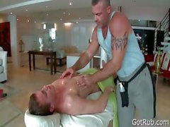 Tief anale dringenden Massage