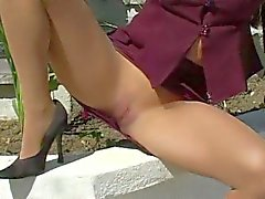 Pantyhose Victoria Red