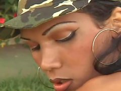 Military tgirl and guy