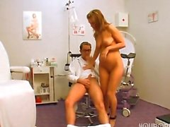 Lovely MILF gets a hot checkup!