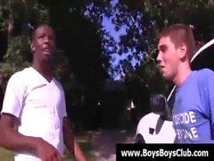 Schwarzem Homosexuell Jungen demütigen weiße Twinks Fest 15