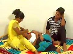 Indisches Paar jugendlich