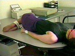 Nina Bound at the office