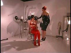 BDSM-Geliebte und ihr Sexsklave