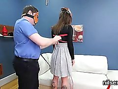 Nasty sweetie is brought in ass hole asylum for uninhibited