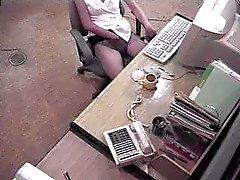 Japanese secretary caught