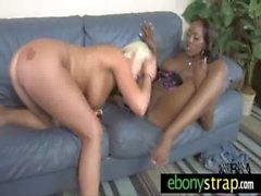 Hard penetration strapon dildo lesbian chicks 2