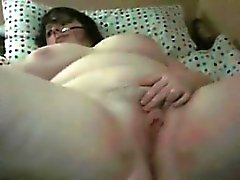 Horny BBW Playing With Her Thick Pussy