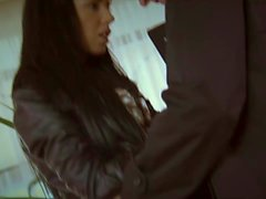 Gina gets mandhandled XXX