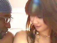 Small Asian girl and big black cock - xturkadult com