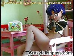 Crazy fetish girl Jana