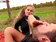 The Voyeur Ep1 - Outdoor Foot Worship and Facesitting