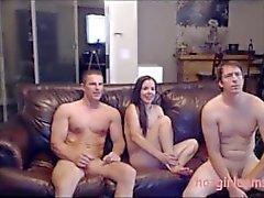 Markus ja Heleni kutsunut toista stud sensual kolmikon