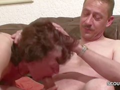 Horny Mature Stepmom Getting Fucked With Son