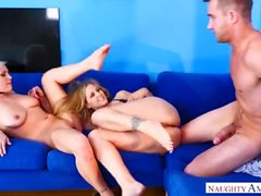 Julia Ann, Kylie Page In A Threesome