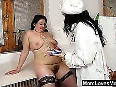 Gracie and Babeta masturbate plus different fuck toys in