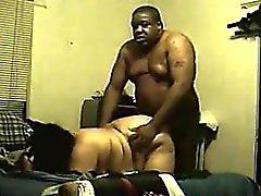 Fett Latina -durch fetten schwarzen Guy abgefickt