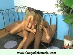 Cougar likes big black dick 28