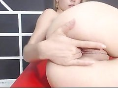 Skinny Blonde Teen Anal amp Vaginal Toys DP