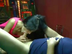 Tattooed Brunette - Pool Table Session