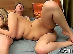Fantastic drilling from behind