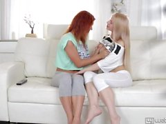 Teens Olivia Grace And Nikky Have Fun