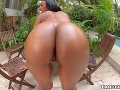 Арианна Найт играет с массивной Dick